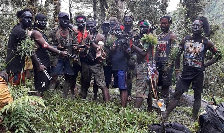 Kelompok Kriminal Bersenjata Papua / Sumber : Facebook