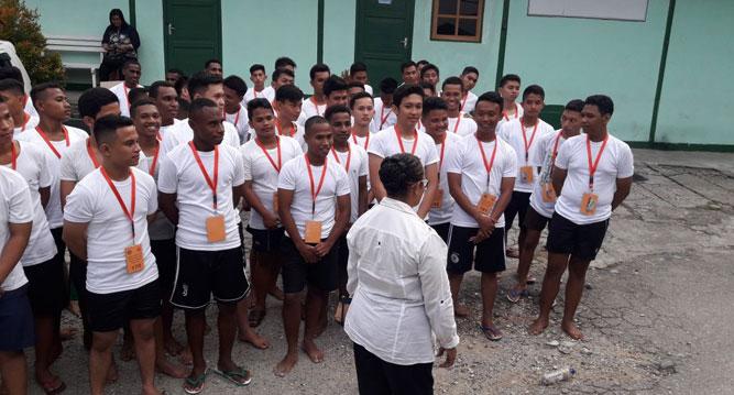 Proses seleksi Calon Taruna IPDN yang dilaksanakan di Kota Jayapura, beberapa waktu lalu