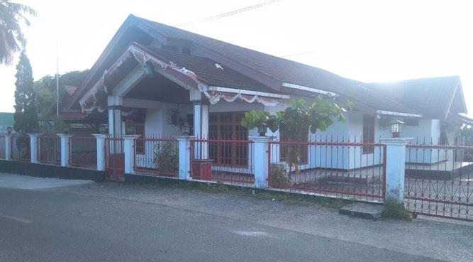Bangunan rumah dinas Ketua DPRD MTB yang beralamat di seputaran BTN Saumlaki, MTB