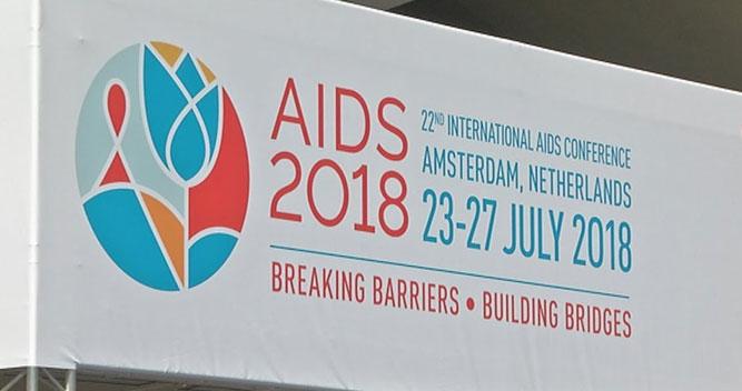 Konferensi AIDS Internasional ke 22 di Amsterdam Belanda