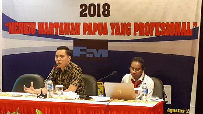 Kegiatan Uji Kompetensi Wartawan 2018 di Kota Jayapura Papua