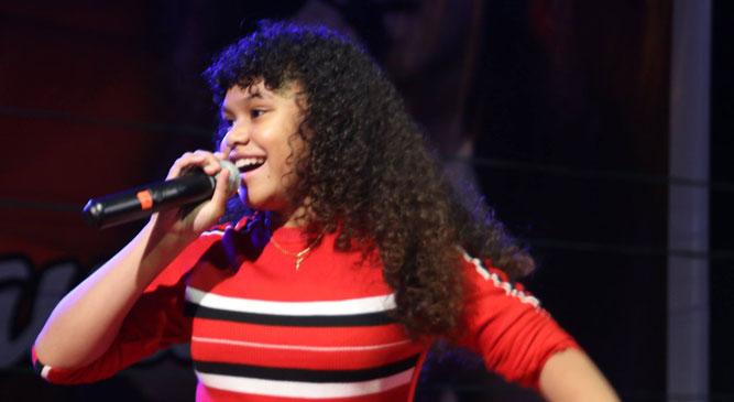 Yosina Roemajauw, winner The Voice Kids Netherland 2018 direncanakan akan tampil di Festival Biak Munara Wampasi VI Tahun 2018, 22 - 25 Agustus 2018