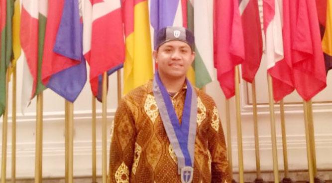 Frangky Darwin Oratmangun sebagai calon Ketua Umum PP GMKI Periode 2018-2020