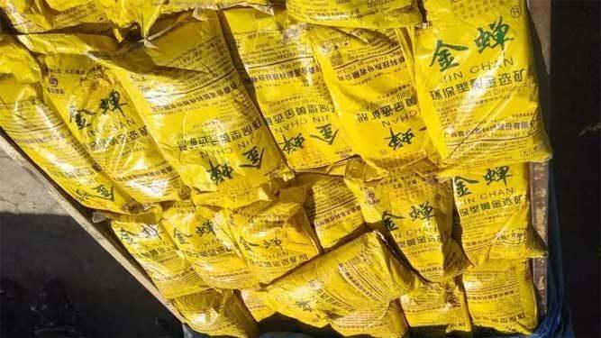zat kimia Jin Chan yang digunakan  PT. Buana Pratama Sejahtera (BPS)