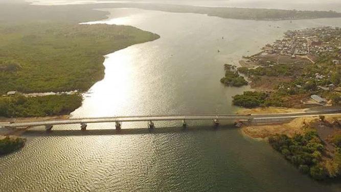 Jembatan Wear Arafura, Kabupaten Maluku Tenggara Barat