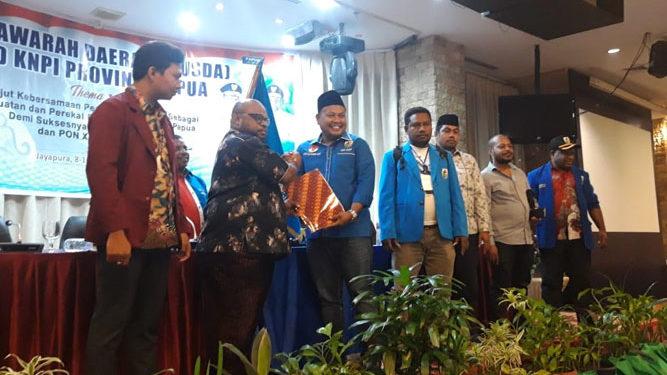 Albert Gonzalez Wanimbo, Ketua KNPI Papua Terpilih Periode 2018 - 2023
