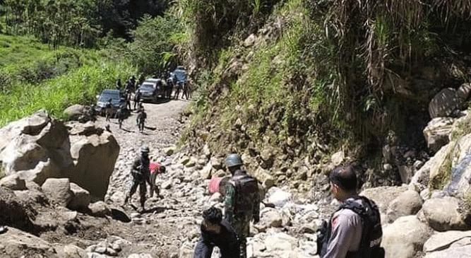 Aparat gabungan TNI-Polri telah berhasil menguasai dan menduduki Distrik Yigi dan Mbua, Kabupaten Nduga, Papua