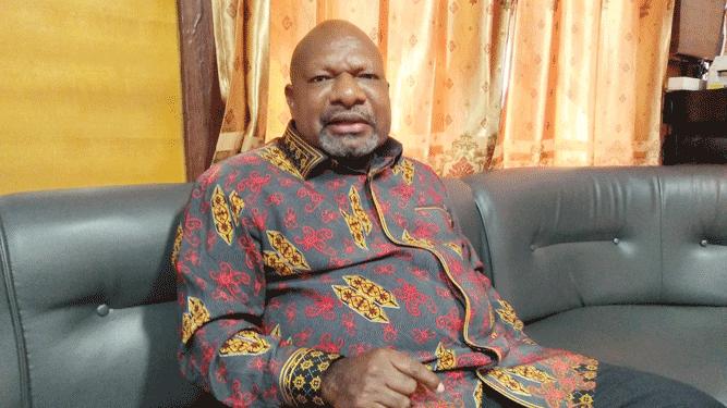 Bupati Nduga Yarius Gwijangge telah meminta maaf kepada Gubernur Papua Lukas Enembe