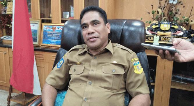 Sekretaris Daerah Papua, TEA. Hery Dosinaen, S.IP, MKP, M.Si