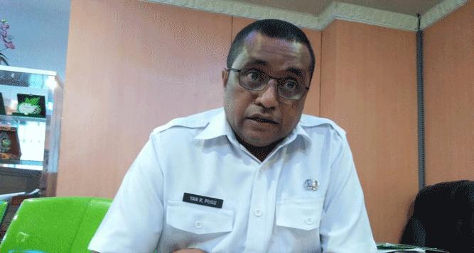 Plh Kepala Dinas Kehutanan Provinsi Papua, Yan Richard Pugu, S.Hut, M.Si