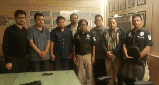 2 oknum penyidik KPK setelah diserahkan ke Polda Metro Jaya