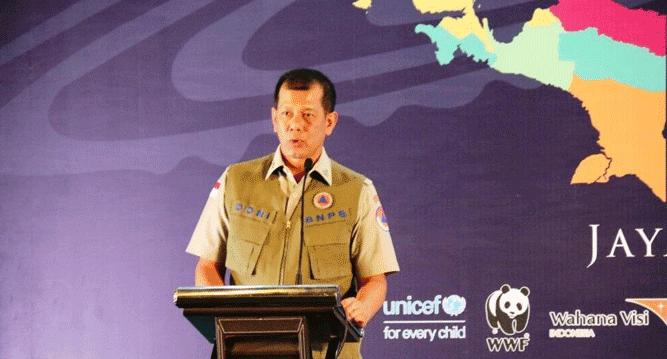 Kepala Badan Nasional Penanggulangan Bencana Pusat, Letjen TNI. Doni Monardo