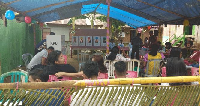 Pemilu susulan di Tanimbar kembali bermasalah setelah tertukarnya surat suara pada 3 TPS di Desa Lermatang