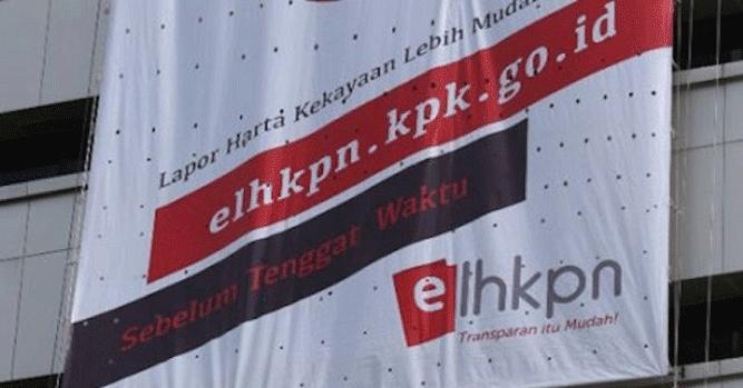Penyampaian LHKPN bisa diakses melalui http://elhkpn.kpk.go.id