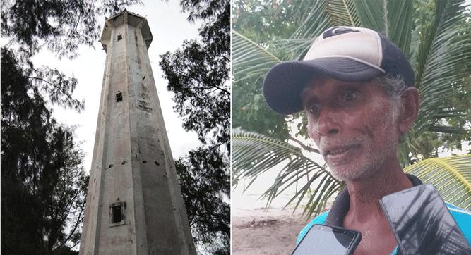 Menara Suar di Batas Negera RI - Australia / Elkana Amarduan, penjaga suar