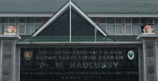 RSUD dr. M. Haulussy, Kudamati, Kota Ambon, Maluku