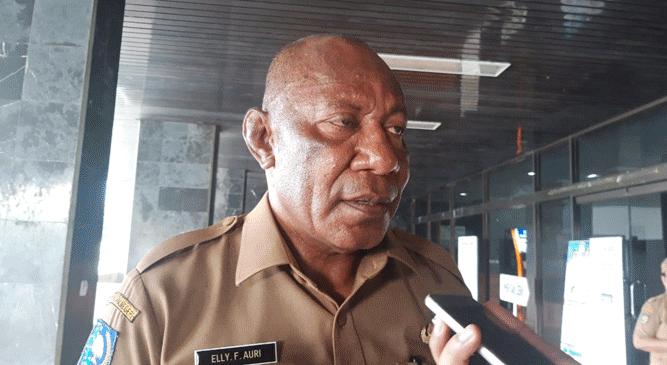 Asisten III Bidang Umum Provinsi Papua, Elly F. Auri