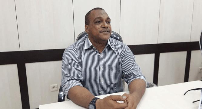 Ketua Komisi V DPR Papua Jack Komboy