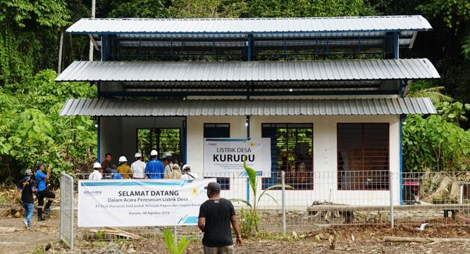 Akhirnya, masyarakat di Pulau Kurudu, Kabupaten Kepulauan Yapen bisa menikmati listrik