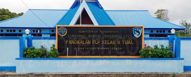 Pangkalan PLP Kelas II Tual - Maluku