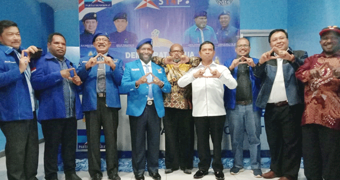 DPD Partai Demokrat Papua kecewa Presiden Joko Widodo tak mengakomodir OAP dalam jajaran pembantunya di Kabinet Indonesia Maju
