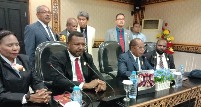 Pengumuman hasil Fit - Proper Test calon anggota KI Papua periode 2019-2023 dan KPID Papua periode 2019-2022