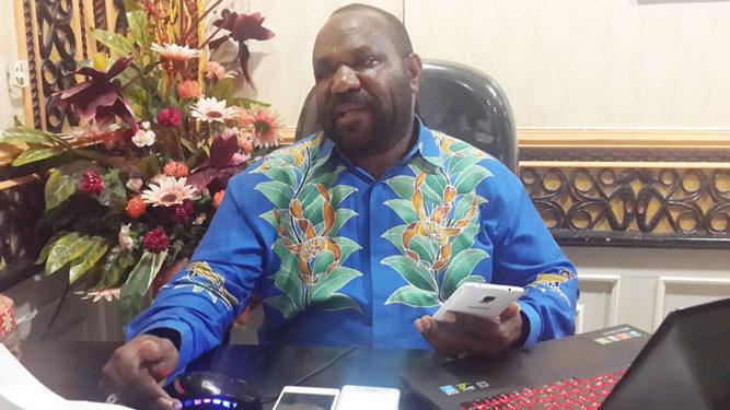 Anggota Komisi I DPR Papua Emus Gwijangge