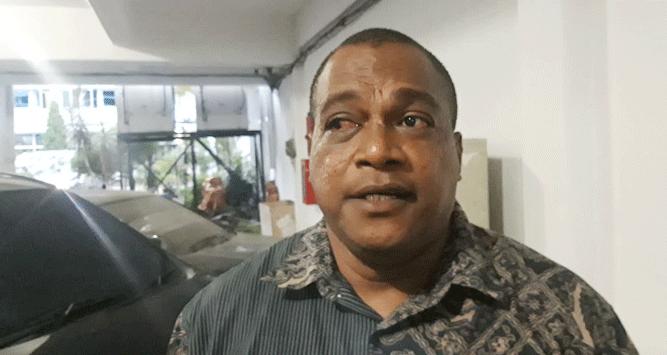 Ketua Komisi V DPR Papua, Jack Kamasan Komboy