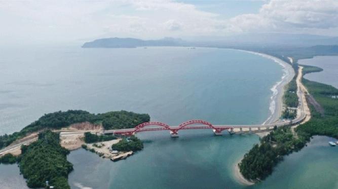 Jembatan Youtefa, Kota Jayapura, Papua
