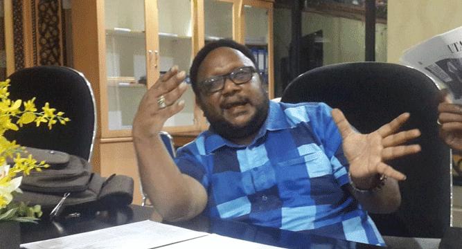Anggota DPR Papua Jhon Gobay