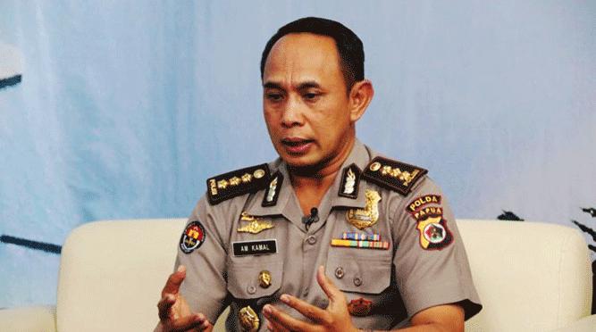 Kabid Humas Polda Papua Kombes Pol. AM. Kamal
