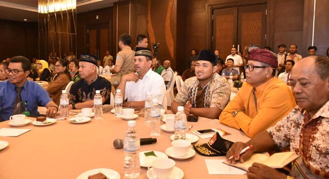 Momen FGD yang digelar Polda Papua dalam rangka merajut kedamaian, Selasa (1/10/2019)