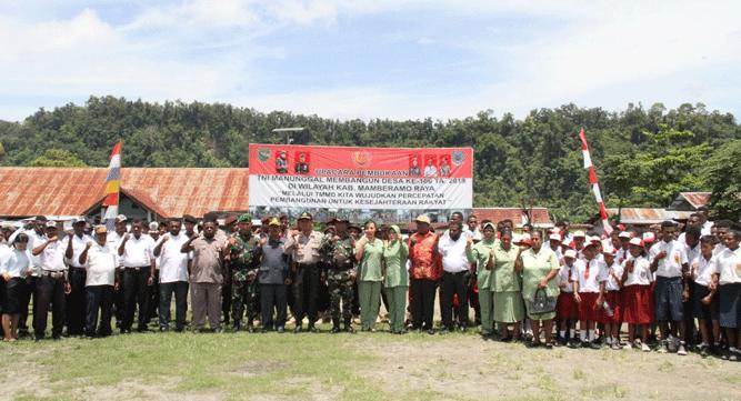 Program TMMD ke 106 TA 2019 di wilayah Kodim 1712/Sarmi resmi dibuka