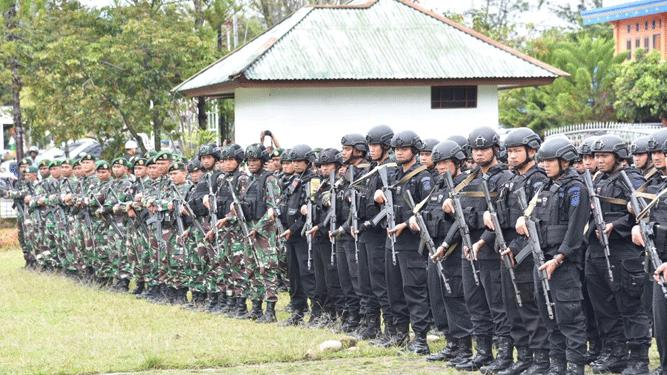 Aparat TNI - Polri terus berupaya mengepung kelompok teroris OPM / Foto : Koreri.com