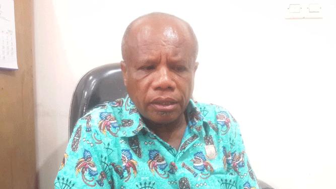 Anggota DPR Papua Yonas Nusi