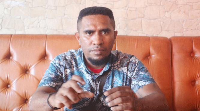 Ketua DPD PMT Provinsi Papua Albert A. Kabiay