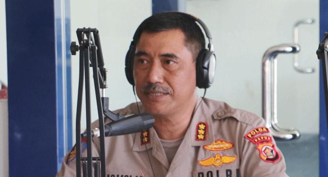 Direktur Polisi Perairan Polda Papua, Kombes Pol. Ir. Kasmolan