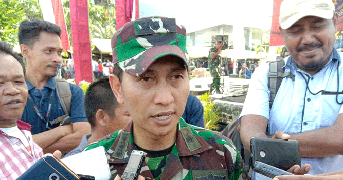 Kepala Penerangan Kodam XVII Cenderawasih Kolonel CPL Eko Daryanto