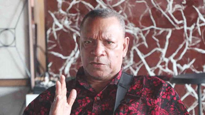 Ketua BMP Kota Jayapura Niko Maury