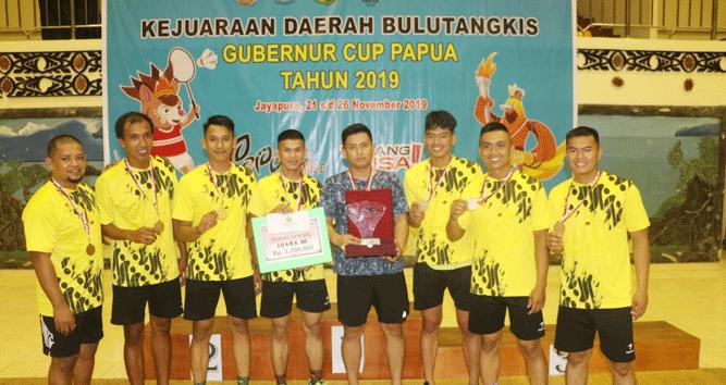PB Bhayangkara Raih Juara 3 Kejurda Bulutangkis Gubernur Papua Cup 2019