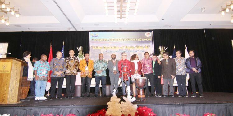 Konferensi Internasional Pemuda dan Cendekiawan Papua, Jumat pagi dibuka oleh Wamenlu RI di Sheraton Gateway Hotel Los Angeles