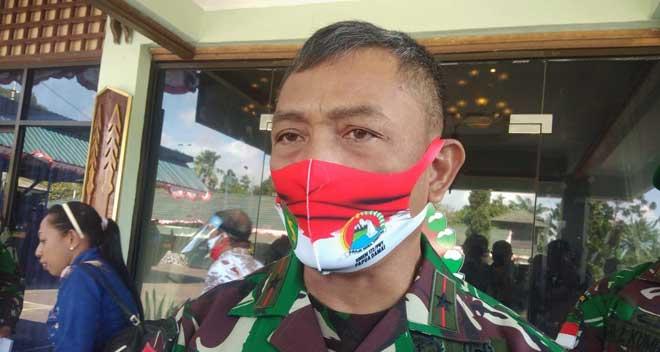 Danrem 172 PWY, Brigjen TNI Izak Pangemanan / Foto : Koreri.com