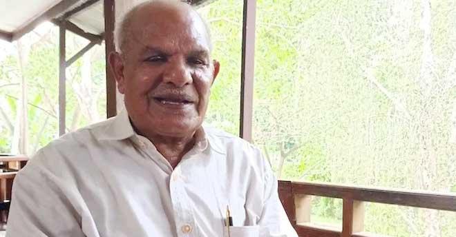 Ketua LMA Port Numbay George Awi