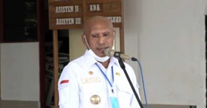 Wali Kota Jayapura, Dr Benhur Tomi Mano, MM