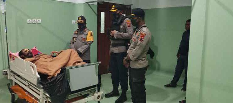 Pelaku penganiayaan Kasat Intelkam Polres Jayawijaya