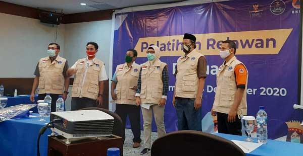 Fasilitator di Jayapura dilatih dalam perekrutan 500-an relawan Satgas Covid-19