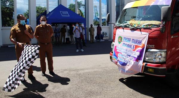 Pasar Murah Pemprov Maluku