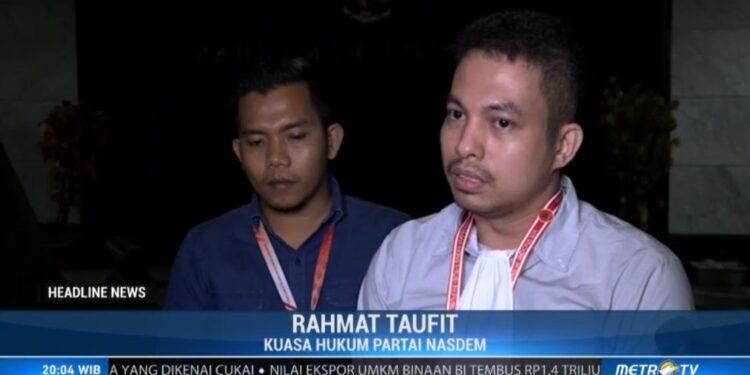 Kuasa Hukum PMK2 Rahmat Taufit,S.H