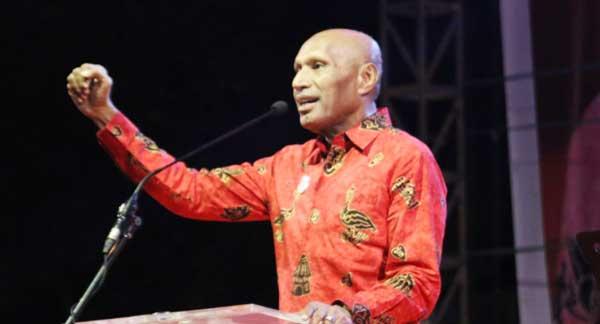 Penatua Benhur Tomi Mano, Wakil Ketua Majelis Jemaat GKI Pniel Kotaraja