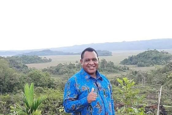 Ketua Bapemperd DPR Papua Barat Karel Murafer, S.H.,M.A